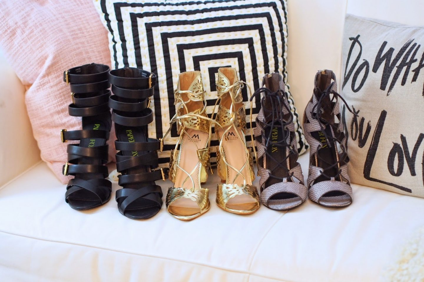 All Tied Up: Pre-Fall Shoe Trends