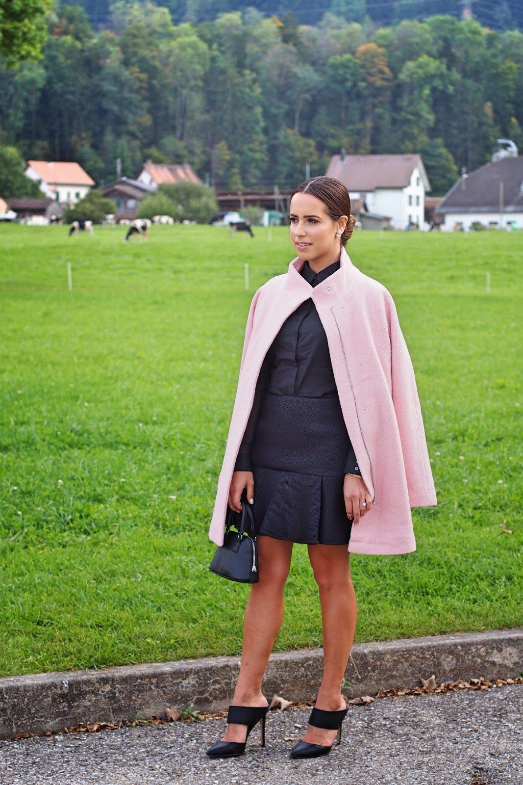 Blush & Black in Switzerland