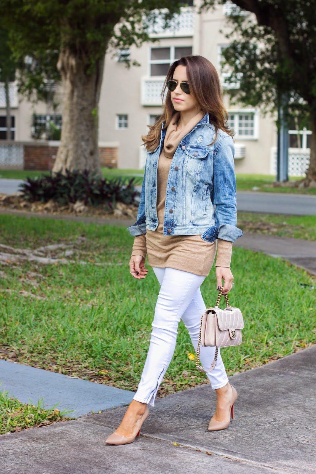 Miami Winter/White Jeans