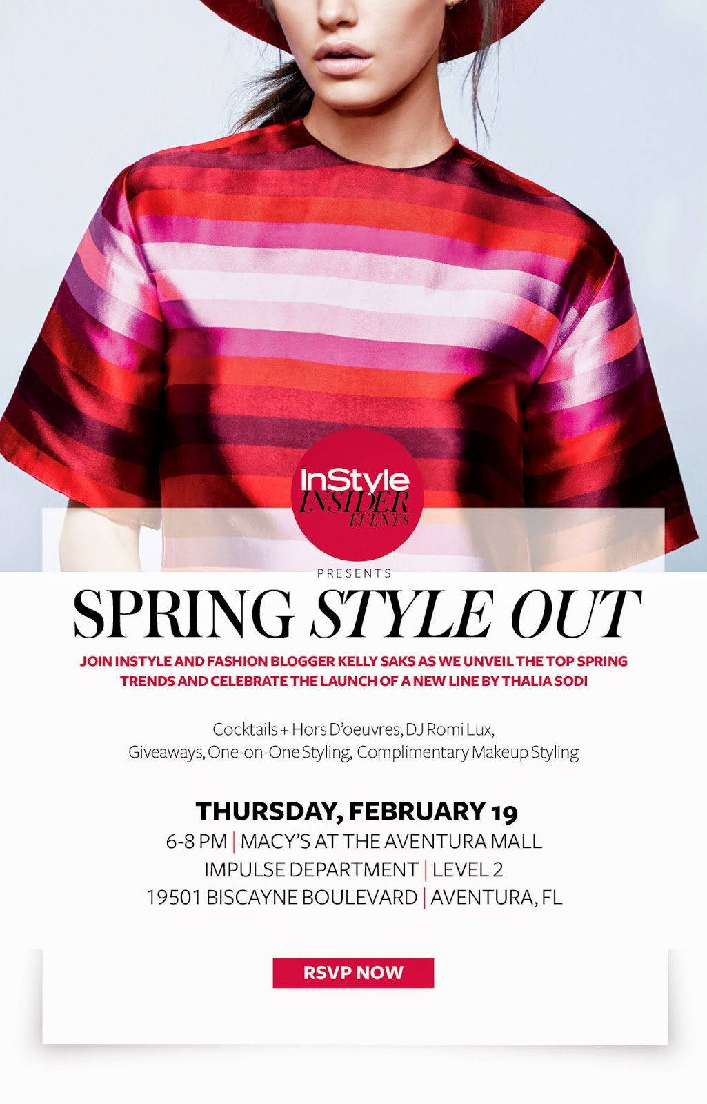InStyle's Spring Style Out at Macy's Aventura