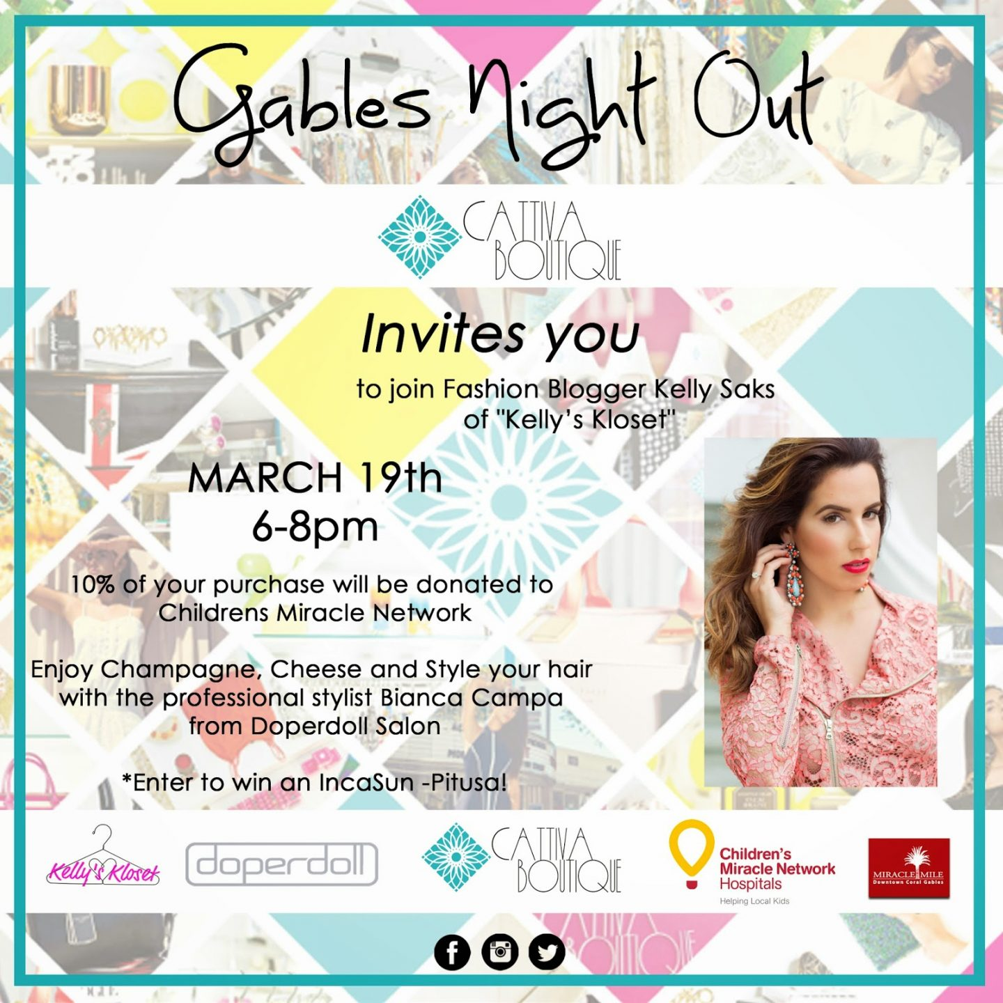 Coral Gables Fashion Week Kicks Off at Cattiva Boutique this Thursday!