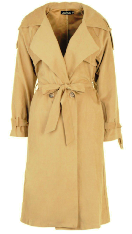 Boohoo Trench Coat