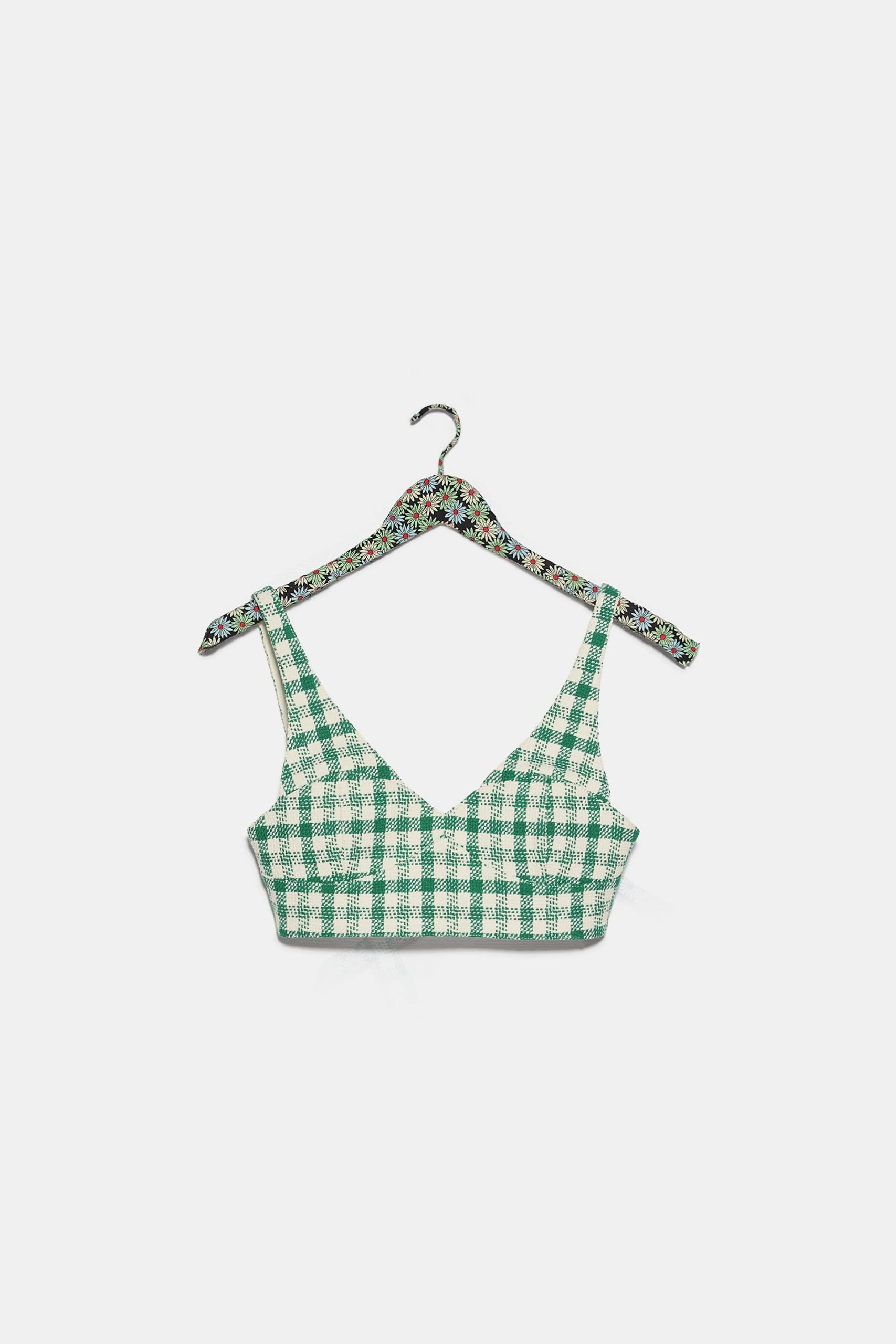 gingham crop top 2